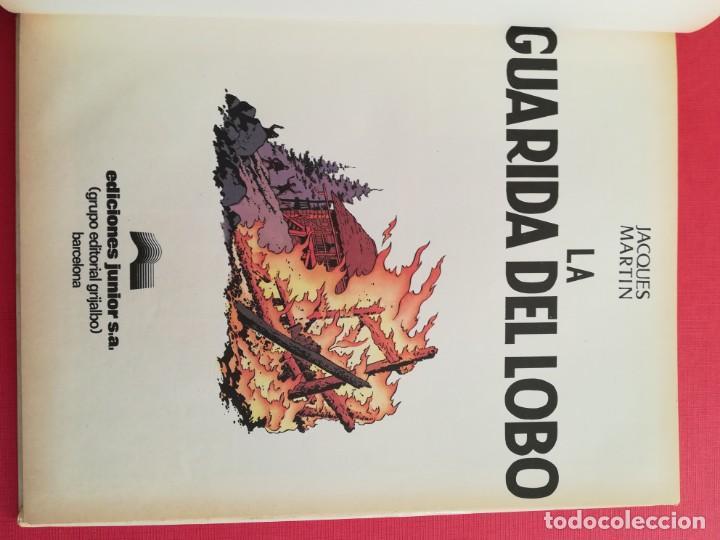 Cómics: LEFRANC Nº 4 LA GUARIDA DEL LOBO de JACQUES MARTIN - GRIJALBO EDICIONES JUNIOR 1986 - Foto 6 - 155413370