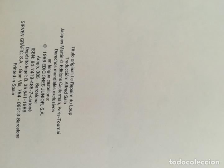 Cómics: LEFRANC Nº 4 LA GUARIDA DEL LOBO de JACQUES MARTIN - GRIJALBO EDICIONES JUNIOR 1986 - Foto 7 - 155413370