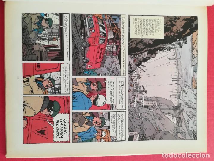 Cómics: LEFRANC Nº 4 LA GUARIDA DEL LOBO de JACQUES MARTIN - GRIJALBO EDICIONES JUNIOR 1986 - Foto 8 - 155413370