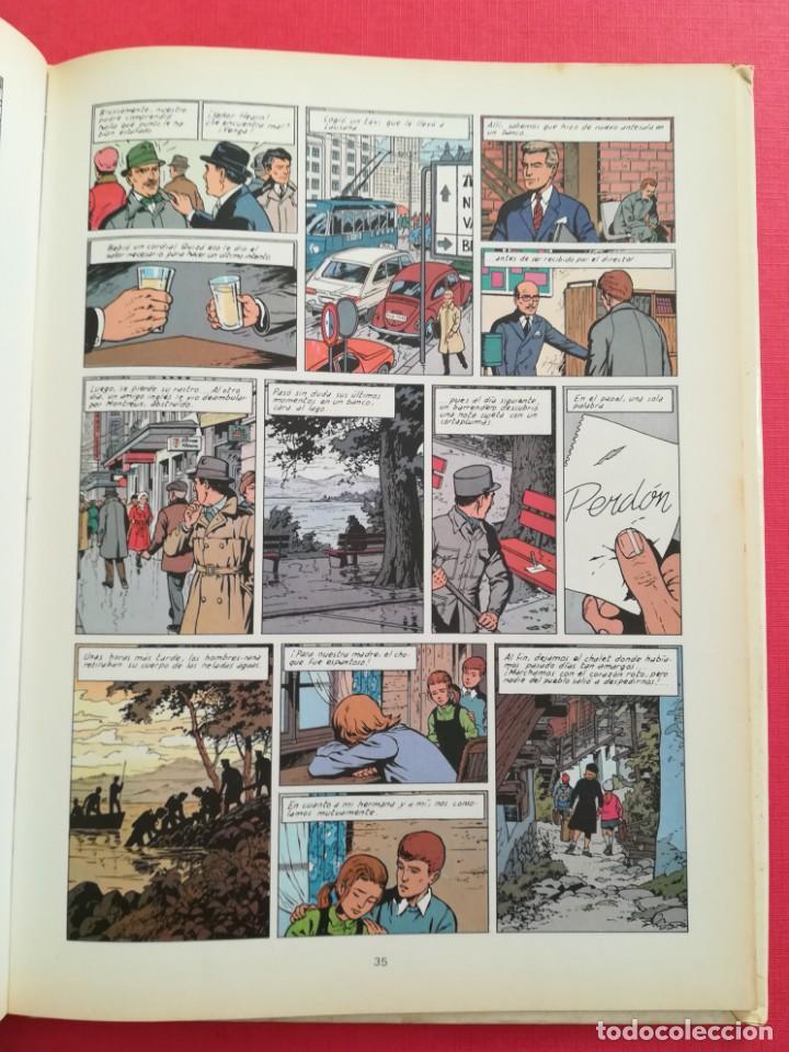 Cómics: LEFRANC Nº 4 LA GUARIDA DEL LOBO de JACQUES MARTIN - GRIJALBO EDICIONES JUNIOR 1986 - Foto 10 - 155413370
