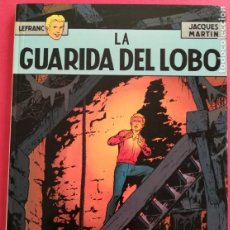 Cómics: LEFRANC Nº 4 LA GUARIDA DEL LOBO DE JACQUES MARTIN - GRIJALBO EDICIONES JUNIOR 1986. Lote 155413370