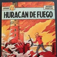 Fumetti: LEFRANC Nº 2 HURACÁN DE FUEGO DE JACQUES MARTIN - GRIJALBO EDICIONES JUNIOR 1986. Lote 155413558