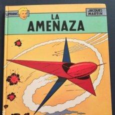 Cómics: LEFRANC Nº 1 LA AMENAZA DE JACQUES MARTIN - GRIJALBO EDICIONES JUNIOR 1986. Lote 155413726