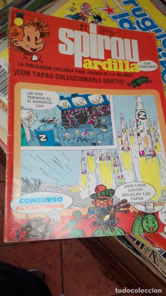 SPIROU ARDILLA Nº 27. (Tebeos y Comics - Grijalbo - Spirou)
