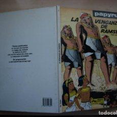 Cómics: PAPYRUS - LA VENGANZA DE RAMSES - NÚMERO 7 - TAPA DURA - JUNIOR. Lote 155513990