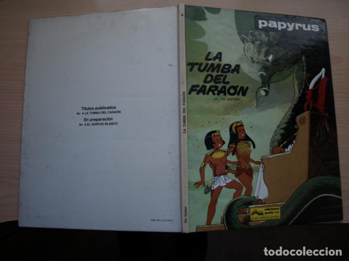 PAPYRUS - LA TUMBA DEL FARAON - NÚMERO 4 - TAPA DURA - JUNIOR (Tebeos y Comics - Grijalbo - Papyrus)