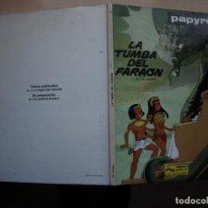 Cómics: PAPYRUS - LA TUMBA DEL FARAON - NÚMERO 4 - TAPA DURA - JUNIOR. Lote 155514246