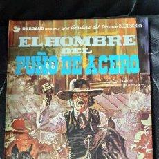 Cómics: EL HOMBRE DEL PUÑO DE ACERO UNA AVENTURA DEL TENIENTE BLUEBERRY. Lote 155643970