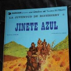 Cómics: LA JUVENTUD DE BLUEBERRY JINETE AZUL UNA AVENTURA DEL TENIENTE BLUEBERRY. Lote 155656082