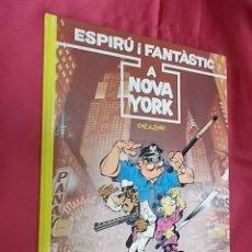 Cómics: ESPIRÚ I FANTÀSTIC. Nº 25. ESPIRÚ A NOVA YORK. GRIJALBO. JUNIOR. EN CATALÁ. Lote 155708038