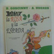 Cómics: ALBUM DE ASTERIX : LA ROSA Y LA ESPADA , 1991. Lote 155724214