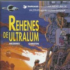 Cómics: VALERIAN 16: REHENES DE ULTRALUM, 1996, GRIJALBO, IMPECABLE. Lote 155756774