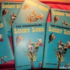 Cómics: BONITO LOTE DE TOMOS GRIJALVO DE LUCKY LUCKE. Lote 155778446