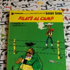 Cómics: LUCKY LUKE.FILATS AL CAMP.1986.IDIOMA CATALÀ. Lote 155964805