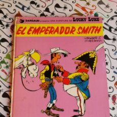 Cómics: LUCKY LUKE.EL EMPERADOR SMITH.JUNIOR 1977. Lote 155967708