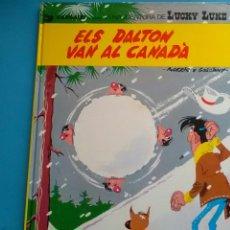 Cómics: LUCKY LUKE . ELS DALTON VAN A CANADÁ GRIJALBO/ DARGAUD .GOSCINNY -MORRIS. Lote 259886085