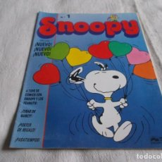Cómics: SNOOPY Nº 1. Lote 156683766