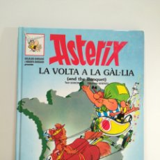 Cómics: COMIC ASTERIX - LA VOLTA A LA GAL.LIA - CATALA /ANGLES. Lote 156717933