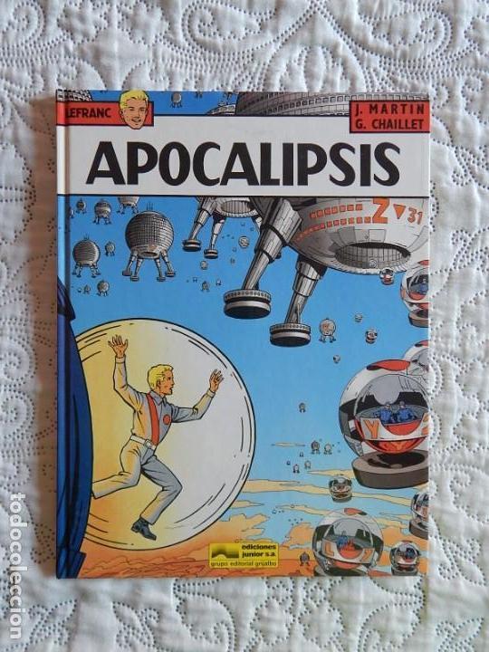 LEFRANC - APOCALIPSIS N. 10 (Tebeos y Comics - Grijalbo - Lefranc)