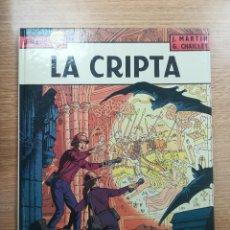 Cómics: LEFRANC #9 LA CRIPTA. Lote 156841541