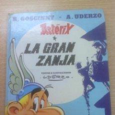Cómics: ASTERIX #25 LA GRAN ZANJA CARTONE. Lote 156842474