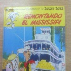 Cómics: LUCKY LUKE #9 REMONTANDO EL MISSISSIPI. Lote 156842490