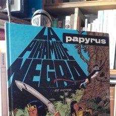 Comics : DE GIETER: PAPYRUS. LA PIRAMIDE NEGRA, (JUNIOR / GRIJALBO-MONDADORI, 1991).. Lote 156948322