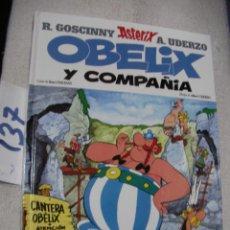 Cómics: COMIC ASTERIX Y OBELIX - OBELIX Y COMPAÑIA. Lote 156992838