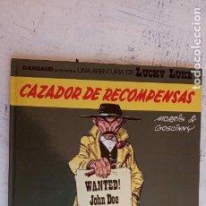 Fumetti: CAZADOR DE RECOMPENSAS LUCKY LUKE Nº 42 GOSCINNY GRIJALBO /DARGAUD AÑO 1990 TAPA DURA. Lote 157124798