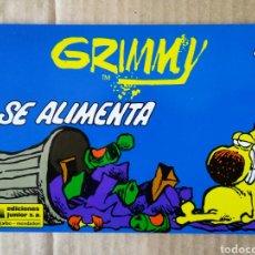 Cómics: GRIMMY SE ALIMENTA N°4 / MAMÁ OCA Y GRIMM. POR MIKE PETERS (JUNIOR/GRIJALBO, 1991).. Lote 157353900