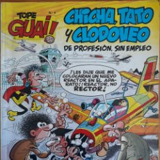 Cómics: COMIC N°4 TOPE GUAI CHICHA TATO Y CLODOVEO 1986. Lote 157360536