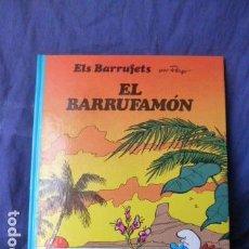 Cómics: ELS BARRUFETS -EL BARRUFAMON-EN CATALAN. Lote 157666334