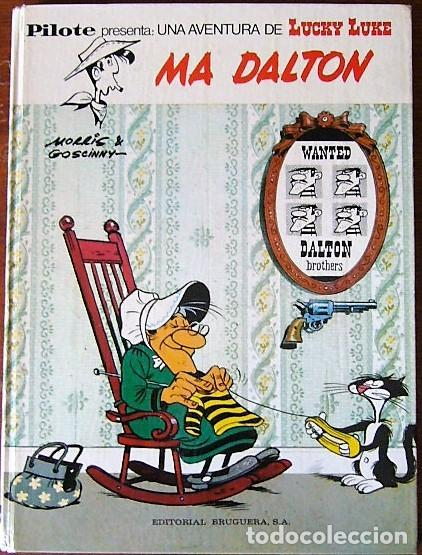 LUCKY LUKE - MA DALTON - 1ª EDICION ESPAÑOLA 1972 (Tebeos y Comics - Grijalbo - Lucky Luke)