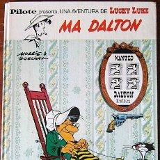 Cómics: LUCKY LUKE - MA DALTON - 1ª EDICION ESPAÑOLA 1972. Lote 157943350