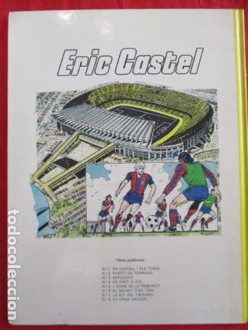 Cómics: ERIC CASTEL Nº 3 EXPULSAT ! GRIJALBO - JUNIOR . excelente estado - Foto 10 - 157969710