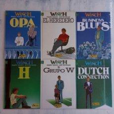 Cómics: LARGO WINCH NºS 1,2,3,4,5,6 - TAPA DURA - PHILIPPE FRANCQ - JEAN VAN AMME - 1992-1995 - 44 IMÁGENES. Lote 158146242