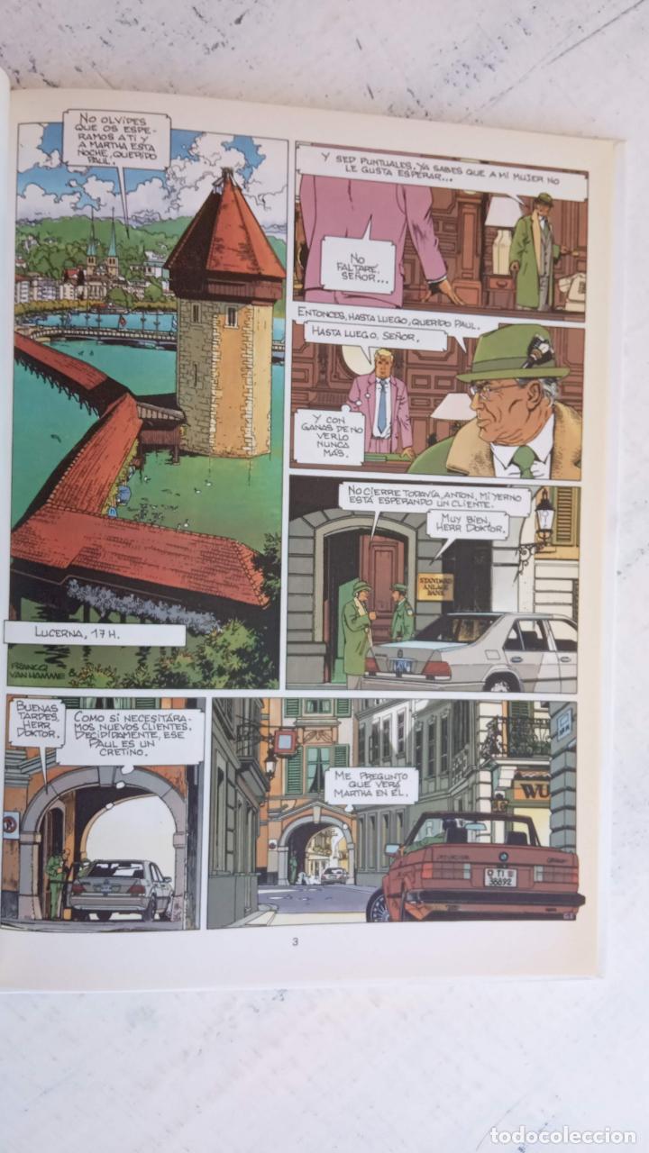 Cómics: LARGO WINCH NºS 1,2,3,4,5,6 - TAPA DURA - PHILIPPE FRANCQ - JEAN VAN AMME - 1992-1995 - 44 IMÁGENES - Foto 2 - 158146242