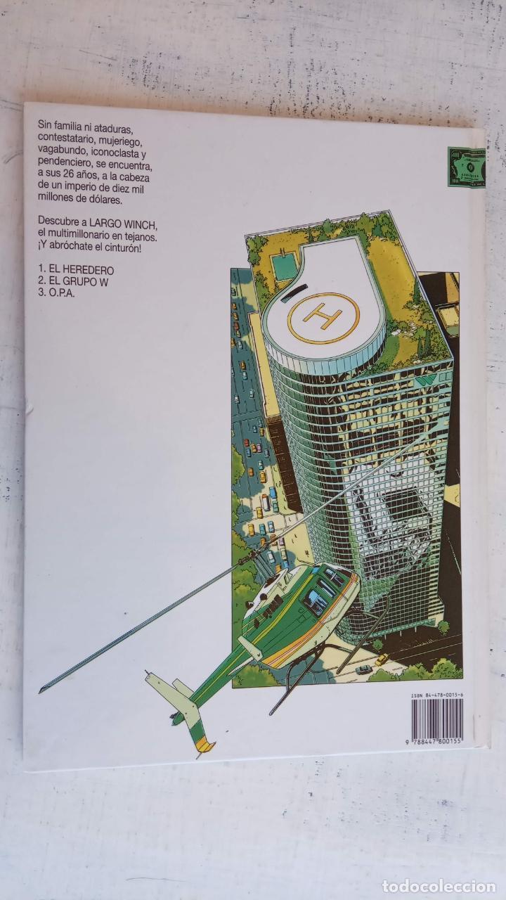 Cómics: LARGO WINCH NºS 1,2,3,4,5,6 - TAPA DURA - PHILIPPE FRANCQ - JEAN VAN AMME - 1992-1995 - 44 IMÁGENES - Foto 3 - 158146242
