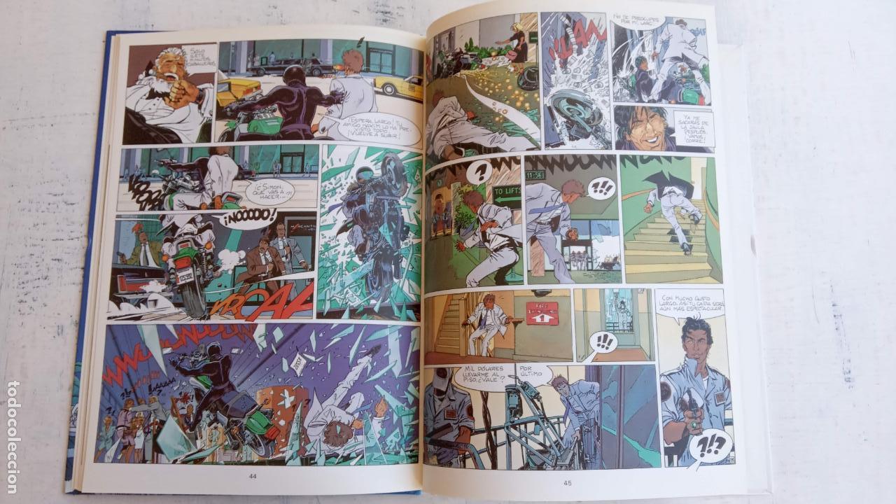 Cómics: LARGO WINCH NºS 1,2,3,4,5,6 - TAPA DURA - PHILIPPE FRANCQ - JEAN VAN AMME - 1992-1995 - 44 IMÁGENES - Foto 5 - 158146242