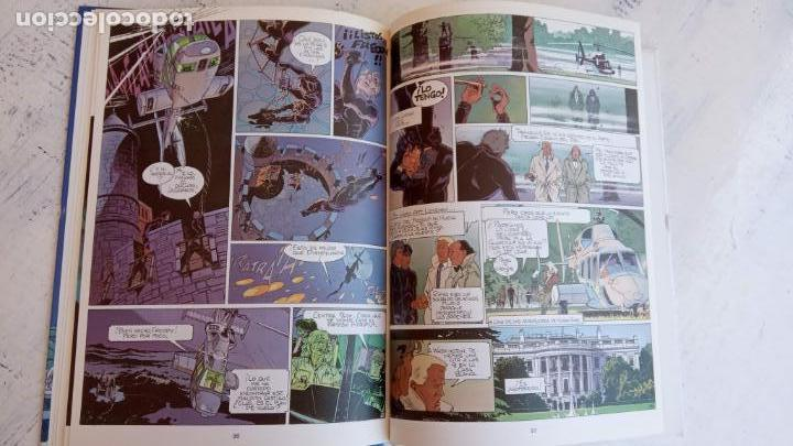 Cómics: LARGO WINCH NºS 1,2,3,4,5,6 - TAPA DURA - PHILIPPE FRANCQ - JEAN VAN AMME - 1992-1995 - 44 IMÁGENES - Foto 6 - 158146242