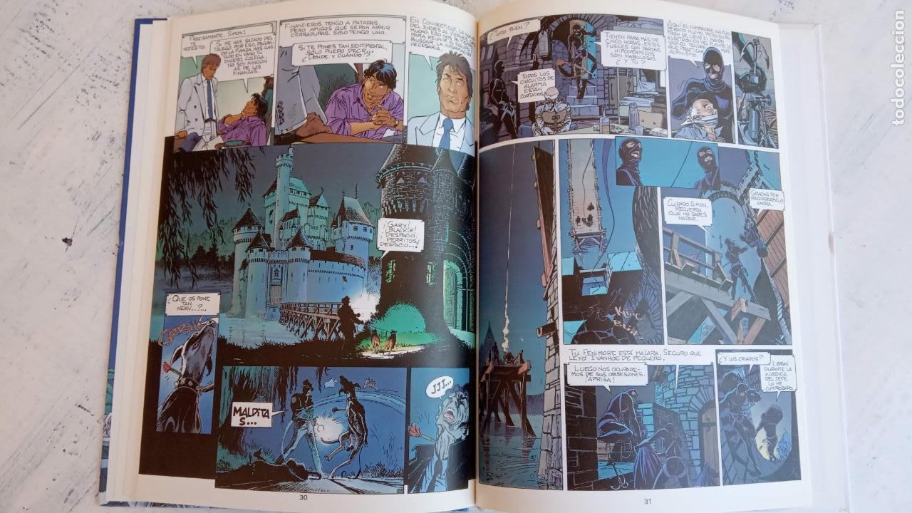 Cómics: LARGO WINCH NºS 1,2,3,4,5,6 - TAPA DURA - PHILIPPE FRANCQ - JEAN VAN AMME - 1992-1995 - 44 IMÁGENES - Foto 7 - 158146242