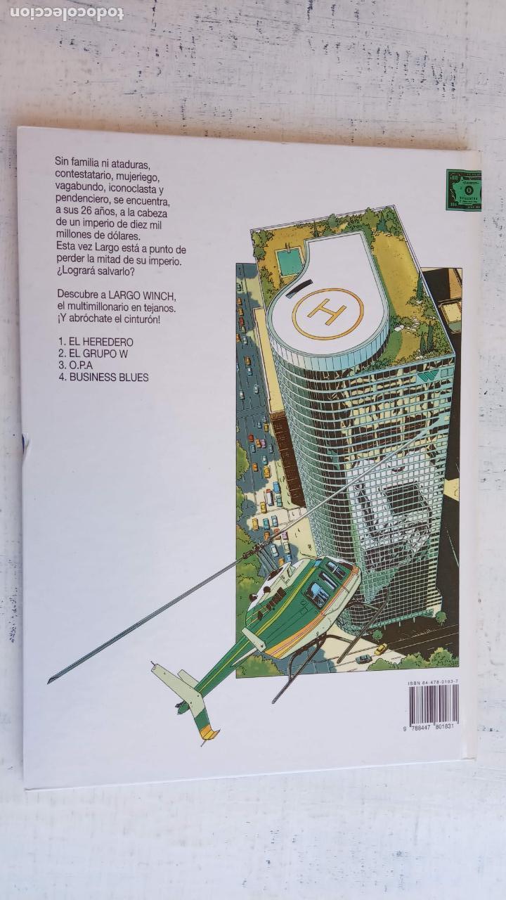 Cómics: LARGO WINCH NºS 1,2,3,4,5,6 - TAPA DURA - PHILIPPE FRANCQ - JEAN VAN AMME - 1992-1995 - 44 IMÁGENES - Foto 10 - 158146242