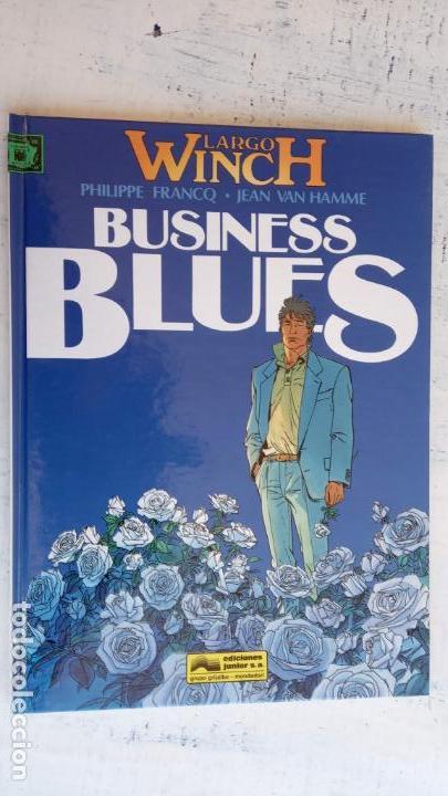 Cómics: LARGO WINCH NºS 1,2,3,4,5,6 - TAPA DURA - PHILIPPE FRANCQ - JEAN VAN AMME - 1992-1995 - 44 IMÁGENES - Foto 11 - 158146242