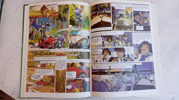 Cómics: LARGO WINCH NºS 1,2,3,4,5,6 - TAPA DURA - PHILIPPE FRANCQ - JEAN VAN AMME - 1992-1995 - 44 IMÁGENES - Foto 13 - 158146242