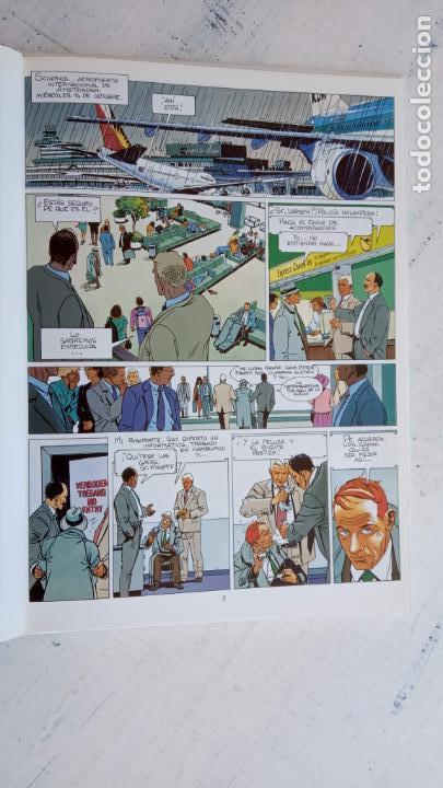 Cómics: LARGO WINCH NºS 1,2,3,4,5,6 - TAPA DURA - PHILIPPE FRANCQ - JEAN VAN AMME - 1992-1995 - 44 IMÁGENES - Foto 14 - 158146242