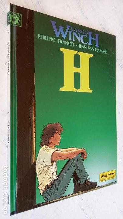 Cómics: LARGO WINCH NºS 1,2,3,4,5,6 - TAPA DURA - PHILIPPE FRANCQ - JEAN VAN AMME - 1992-1995 - 44 IMÁGENES - Foto 15 - 158146242