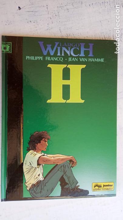 Cómics: LARGO WINCH NºS 1,2,3,4,5,6 - TAPA DURA - PHILIPPE FRANCQ - JEAN VAN AMME - 1992-1995 - 44 IMÁGENES - Foto 16 - 158146242