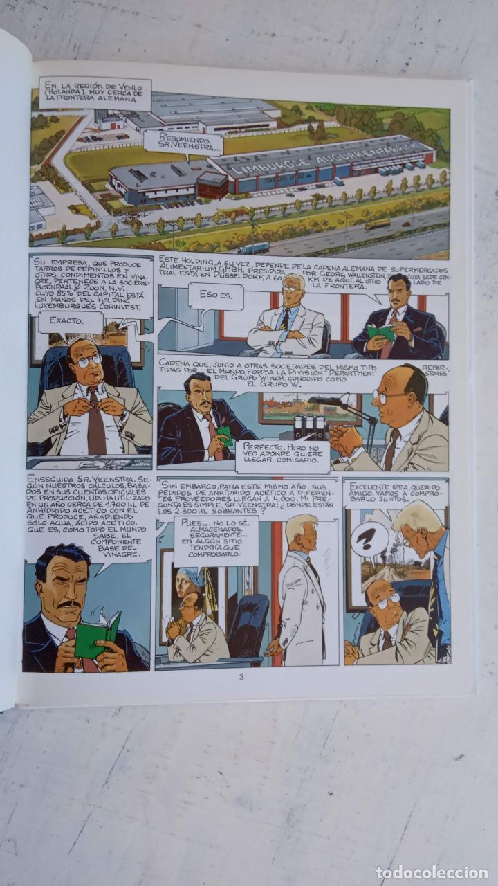 Cómics: LARGO WINCH NºS 1,2,3,4,5,6 - TAPA DURA - PHILIPPE FRANCQ - JEAN VAN AMME - 1992-1995 - 44 IMÁGENES - Foto 19 - 158146242