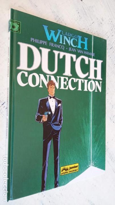 Cómics: LARGO WINCH NºS 1,2,3,4,5,6 - TAPA DURA - PHILIPPE FRANCQ - JEAN VAN AMME - 1992-1995 - 44 IMÁGENES - Foto 23 - 158146242