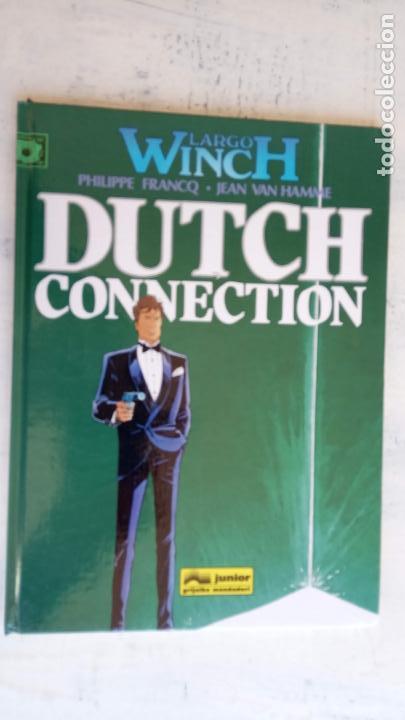 Cómics: LARGO WINCH NºS 1,2,3,4,5,6 - TAPA DURA - PHILIPPE FRANCQ - JEAN VAN AMME - 1992-1995 - 44 IMÁGENES - Foto 24 - 158146242